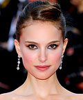 Natalie Portman, Vanitymark by Brett Freedman Ultra-Brow pencil, face