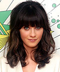 Zooey Deschanel, hair extensions