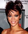 Rihanna, Jennifer Ouellette rhinestone headband, hair accessories