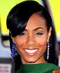 Jada Pinkett Smith, Shu Uemura Rebirth Collection eye shadow in Pristine Green, eye shadows
