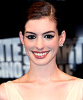 Anne Hathaway, Lancome Le Stylo Waterproof eye liner in Fumee, eyeliners
