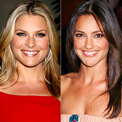 [Ali Larter, Minka Kelly]