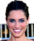 Amanda Peet, Bobbi Brown eye shadow in Grey and Steel, eye shadows