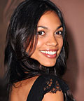 Rosario Dawson, All Pro 5-Lb Chrome Dumbell Set