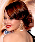 Emma Stone, Rene Furterer Laque Anti-Dehydrating Instant Hold Finishing Spray, hair, styling products