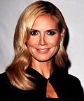 Heidi Klum, Victoria's Secret, eye shadow, makeup