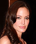 angelina jolie; blush; nars; makeup