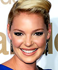 Katherine Heigl, eyes, smoky eye makeup
