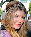 Fergie, Bohemian Chic Hair
