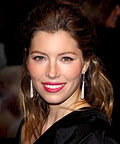 Jessica Biel, lipstick, Chanel