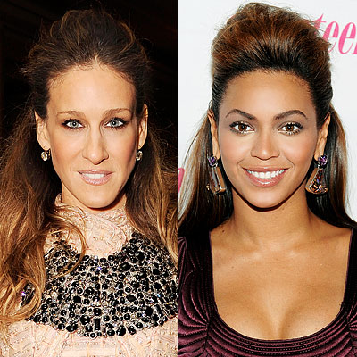 [Beyonce Knowles, Sarah Jessica Parker]