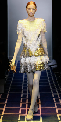 Balenciaga Spring 2009 Runway | Fringe :  photos crystal fall unusual