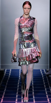 Balenciaga - Runway Photos - Spring 2009 Runway at InStyle.com :  photos antique crystal fall