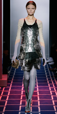 Balenciaga - Runway Photos - Spring 2009 Runway at InStyle.com :  chic style instyle color