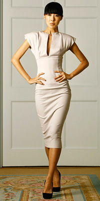 Victoria Beckham Collection - Celebrity Clothing Lines - Spring 2009 Celebrity Photos at InStyle.com from fashiondesigners.instyle.com