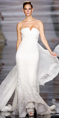 FashionDesigners - Bridal Gown Collections - Spring 2009 Bridal Photos at InStyle.com :  photos fall unusual gown