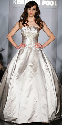 FashionDesigners - Bridal Gown Collections - Spring 2009 Bridal Photos at InStyle.com :  photos crystal fall unusual