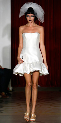 FashionDesigners - Bridal Gown Collections - Fall 2009 Bridal Photos at InStyle.com :  chic instyle designers vintage