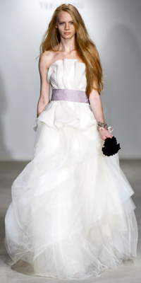 FashionDesigners - Bridal Gown Collections - Fall 2009 Bridal Photos at InStyle.com :  chic instyle color designers