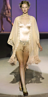 Fashion Designers - Runway Photos - Spring 2009 Runway at InStyle.com :  photos crystal fall unusual