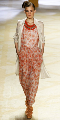 3.1 Phillip Lim - Runway Photos - Spring 2009 Runway at InStyle.com :  runway gown dress clingy