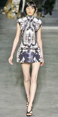 Alexander McQueen - Runway Photos - Spring 2009 Runway at InStyle.com :  photos mcqueen fall unusual