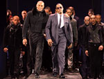 sean combs fashion week video