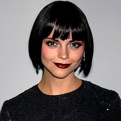 Christina Ricci - Burgundy Lips - InStyle.com  Christina Ricci