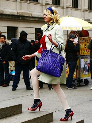 gossip girl, taylor momsen, valentino, moschino, ellen tracy