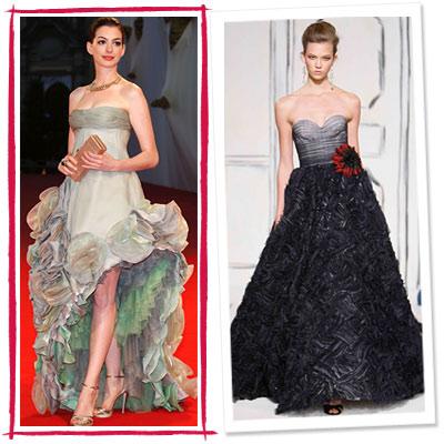 2009 Golden Globe Awards. golden globes, high fashion, anne hathaway,