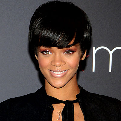 Celebrity Short Hairstyles - Rihanna