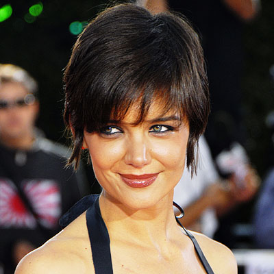katie holmes short hair 2009. Hair katie swift hairstyle for