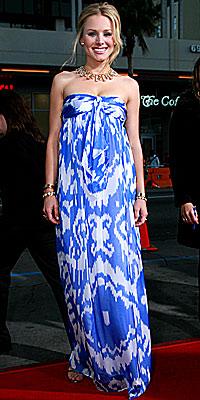Kristen Bell in Jenni Kayne