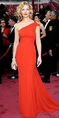 Katherine Heigl, 2008 Academy Awards, Oscars Red Carpet Arrivals