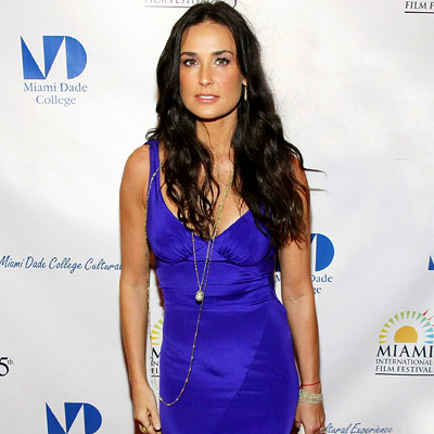 Demi Moore, Premiere of Flawless, Miami International Film Festival