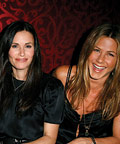 Orlando Bloom, Jennifer Aniston, Kate Beckinsale in Balenciaga, EBMRF benefit at Beso, Los Angeles