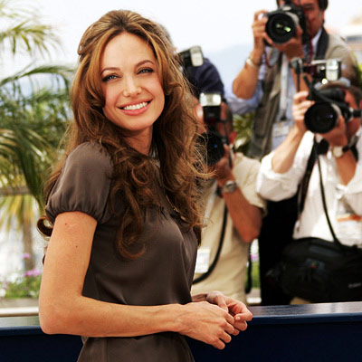 angelina jolie red carpet. Angelina Jolie, Nominee for