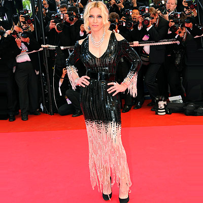 Madonna - Red Carpet Report - Cannes Film Festival 2008 - Film Festival Central - Parties - In Style :  madonna in chanel haute couture trendy womens clothing dresses womens apparel