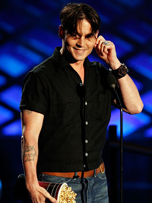 Johnny Depp, 2008 MTV Movie Awards, Los Angeles, Fashion