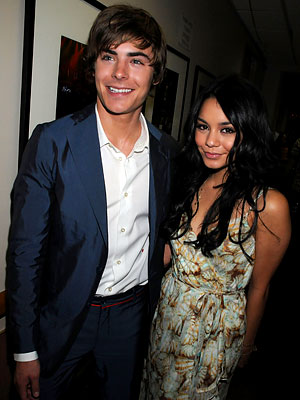 zac efron and vanessa hudgens red carpet