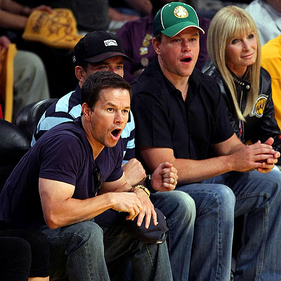 matt damon mark wahlberg