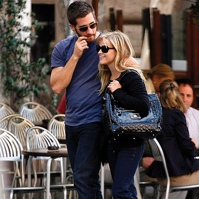 Reese Witherspoon, Jake Gyllenhaal, Vacation in Italy, The Stars Say Ciao to Italy