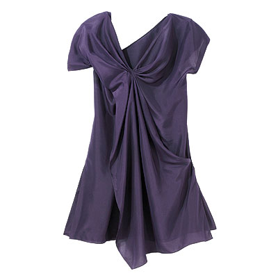 Fall Trends, Slouchy, Chris Han Rayon jersey dress