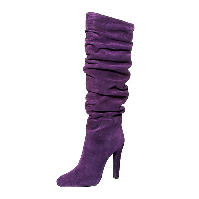 Fall Trends, Slouchy, Ralph Lauren Collection suede boots&#13;&#10;&#13;&#10;