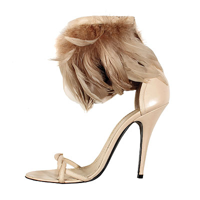 Heels - Roaring Twenties - Fall Accessories Report 2008 - Trends - In Style :  sandal riccardo tisci heels sandals