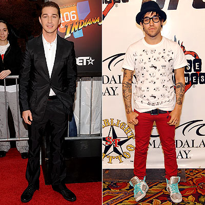 Shia LaBeouf, Pete Wentz, Teen Choice Awards Poll, Male Red Carpet Fashion Icon
