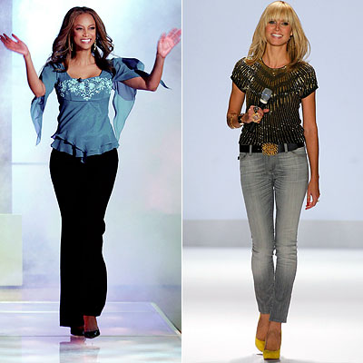 Tyra Banks Heidi Klum, Teen Choice Awards Poll, TV Reality and Beauty Makeover