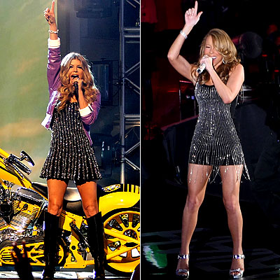 Fergie, Mariah Carey, Teen Choice Awards Poll, Female Artist