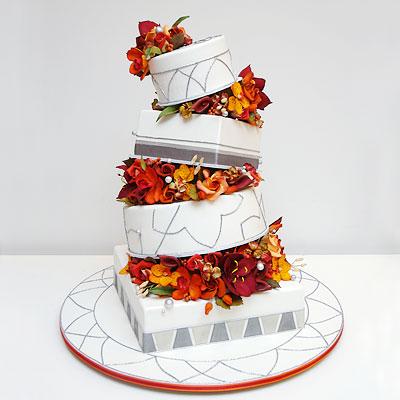 crooked cake