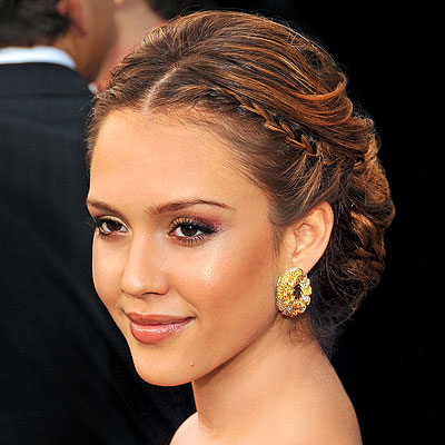 Summer Weddings - Celeb Hair - Jessica Alba
